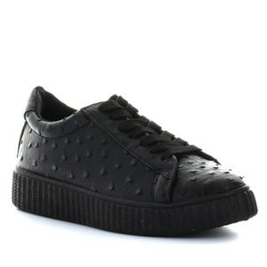 Seven C-Brown Black Vegan Fashion Sneaker